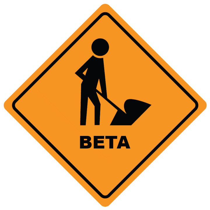 warning - total beta