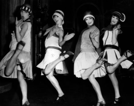 Flappers dancing