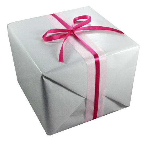 Repackaging 4 - Gift-wrapped package