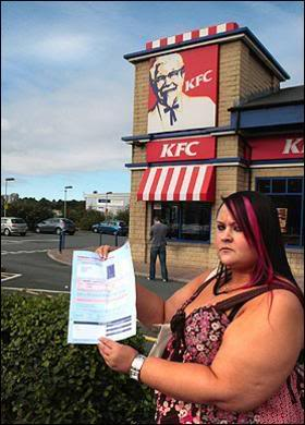 KFC Plus-Sized Lady