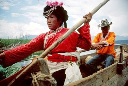 A Mosuo woman
