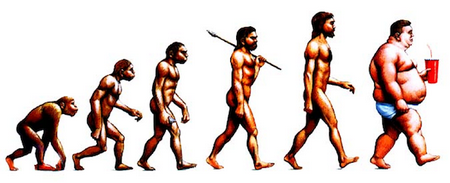 maladaptation men turn fat