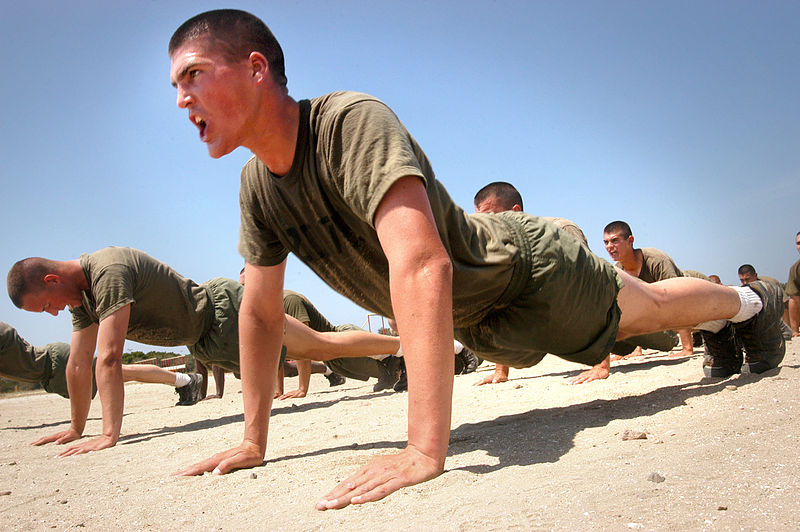 marinepushup