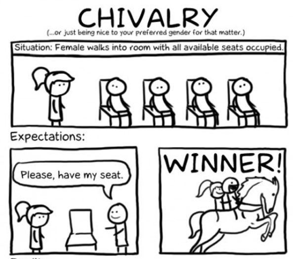 Chivalry winner