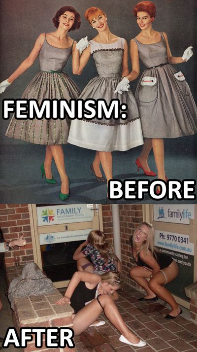 Feminism Before and After