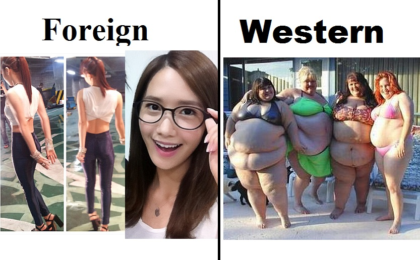 Foreign Women American Woman As 101