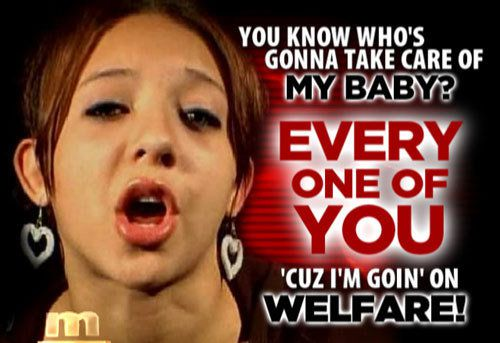 welfare woman