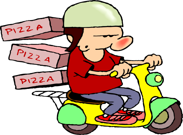 delivery driver clip art - photo #35