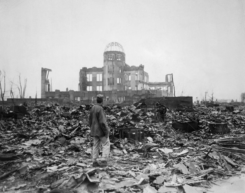 Ruins of Hiroshima's Museum of Science and Technology