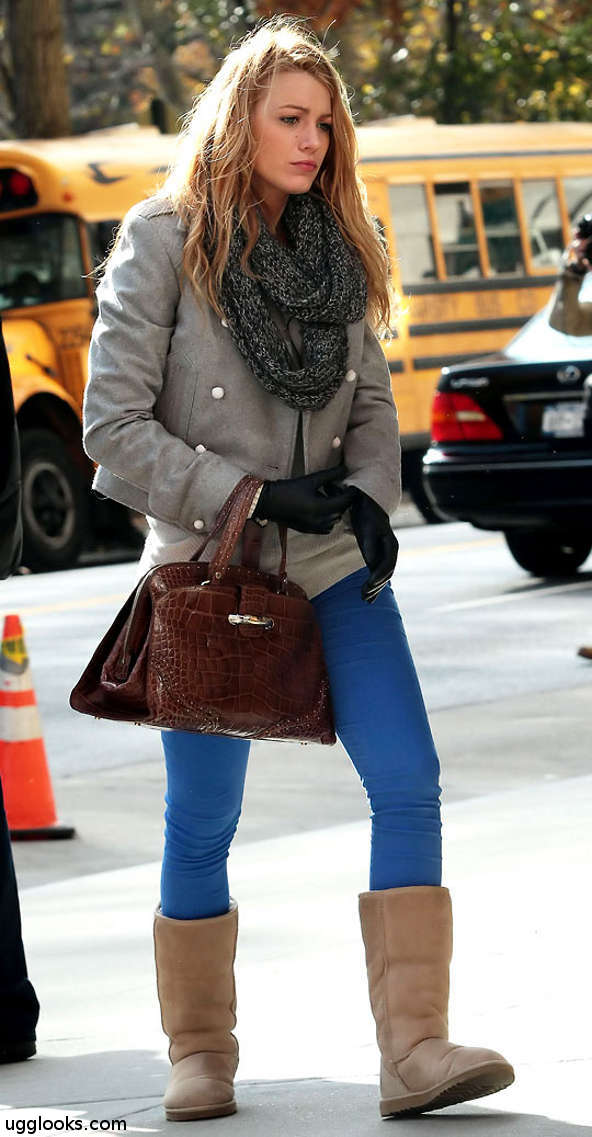 Blake_Lively_Gossip_Girl_Ugg_boots_ClassicTall