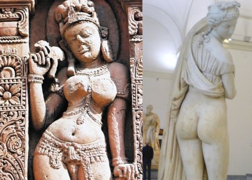 women ancient hourglass figures