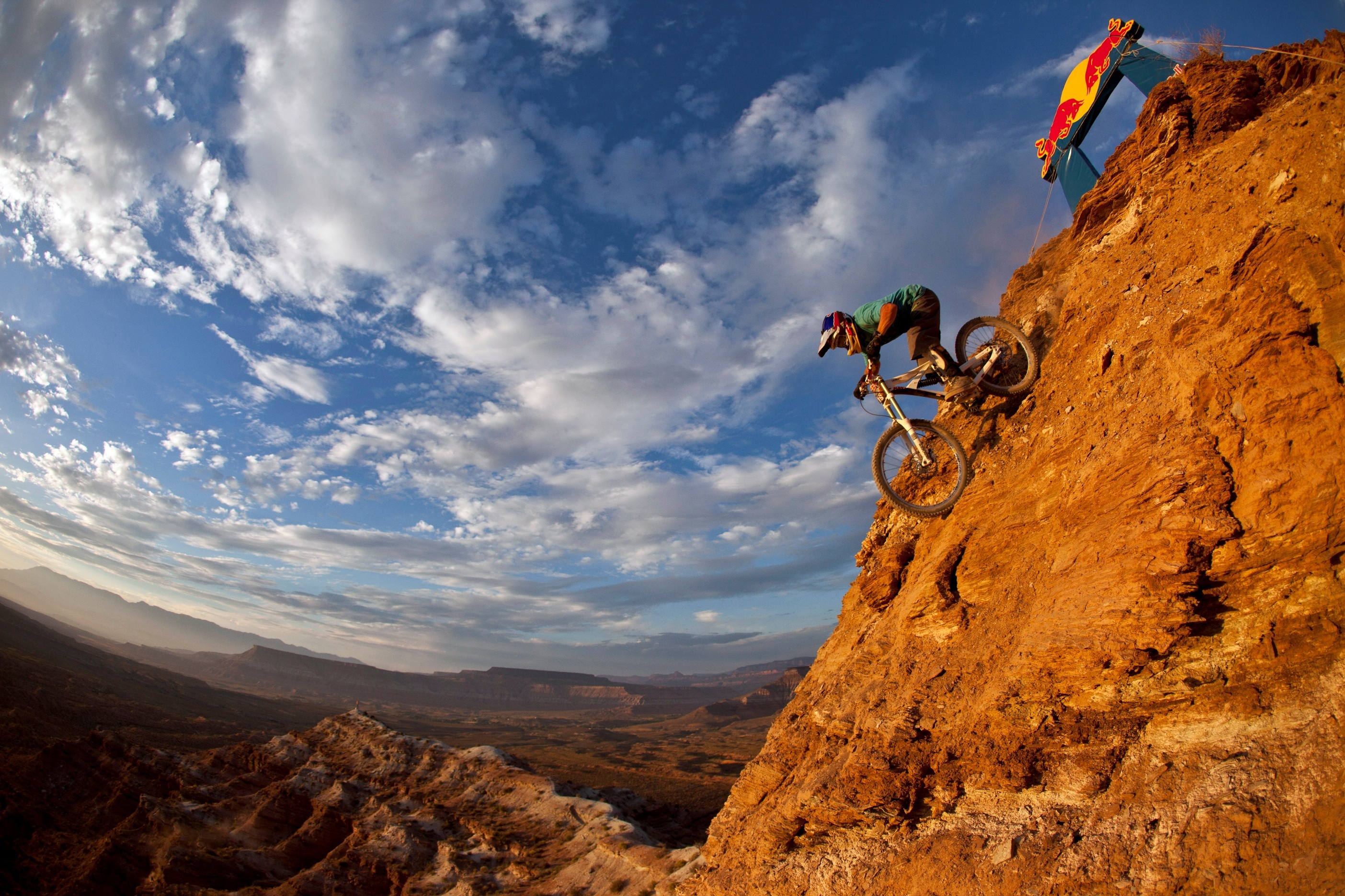 Rider: Michael Marosi Description: Red Bull Rampage 2010