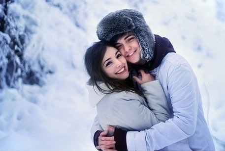 winter couple 2