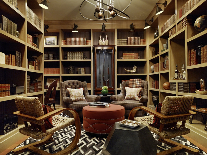 gentleman's club library