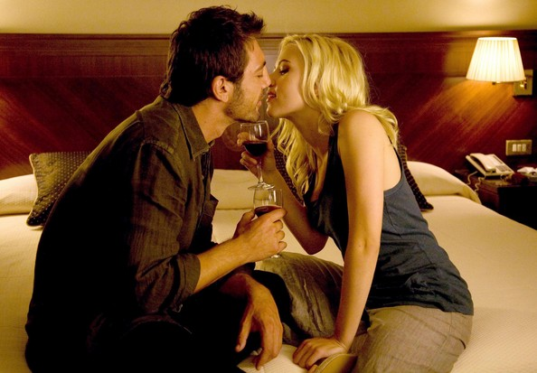 Vicky Cristina Barcelona Vicky and Juan Antonio making out