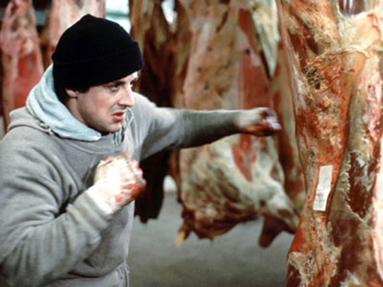 Rocky-Training-Punching-Meat