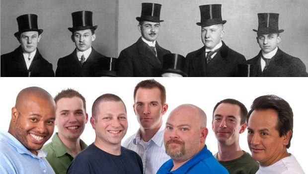 Being a man in 1914 vs. 2014
