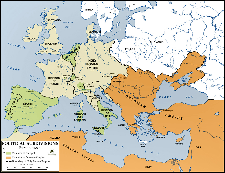 ottoman empire spanish empire essay