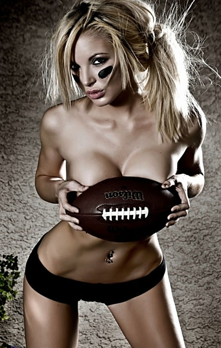 hot-girl-covers-boobs-with-football