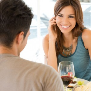 young-woman-on-dinner-date