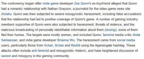 wiki gamergate article 3