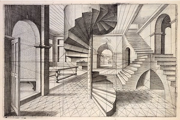 1 Perspective Room Drawing
