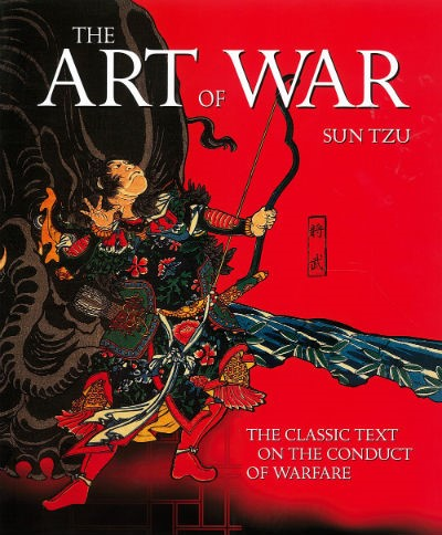 THE ART OF WAR Sun Tzu 2014 hcdj Illustrated Edition
