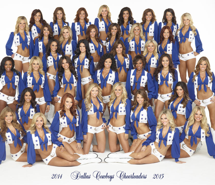 2014 dallas cowboys cheerleaders squad