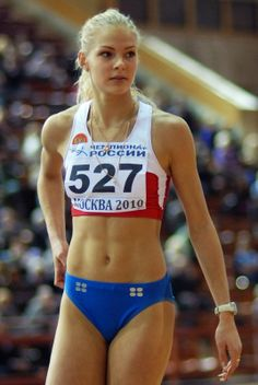Darya Klishina, long jumper