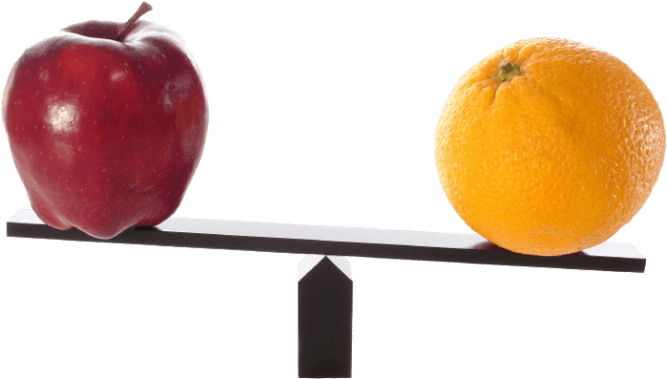 comparing-apples-and-oranges