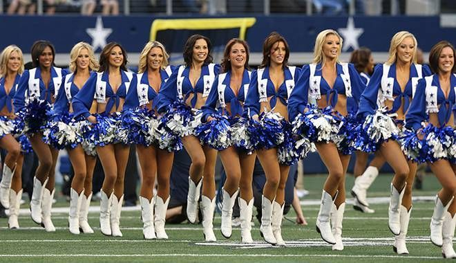 dallas cowboys cheerleaders dance