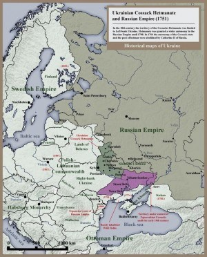 725px-007_Ukrainian_Cossack_Hetmanate_and_Russian_Empire_1751