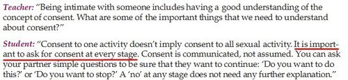 again more consent
