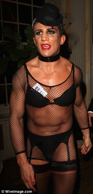 MMA fighter Alex Reid would presumably be denied the right to dress in drag.