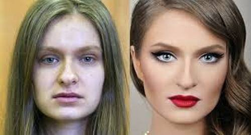 makeup difference