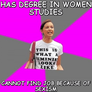 "Obviously, I'm using the term ""degree"" very loosely."