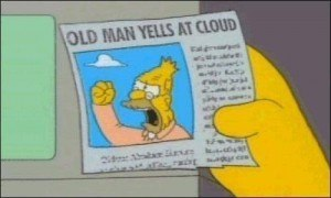 Grandpa Simpson is not a Red Pill role model