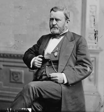 """ulysses s grant a man of brilliance American ulysses a life of ulysses s grant by ronald c white illustrated 826 pp random house $35 gore vidal did not expect ulysses s grant to be funny in the novel """"1876,"""" vidal's ."""