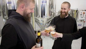 Some monasteries support themselves by brewing beer