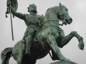 statue-of-godfrey-in-brussels