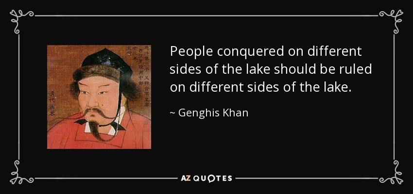 """an introduction to the life of genghis kahn """"to place the bloodthirsty barbarian genghis khan"""": larry moses and stephen a halkovic jr, introduction to mongolian history and culture (bloomington, ind: research institute for inner asian studies, 1985), p 168."""