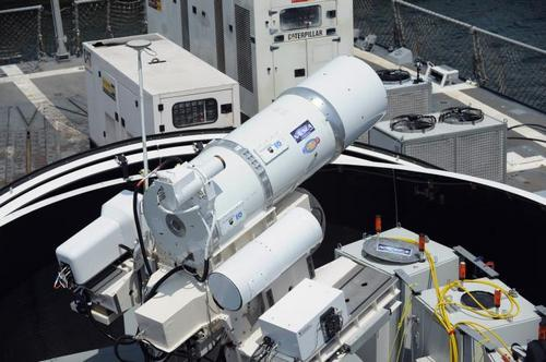 us-navy-laser anti drone weapon