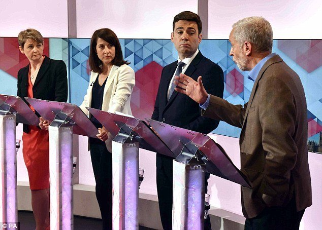 Hard-left candidate Jeremy Corbyn takes on the cookie cutter candidates preferred by the Labour party apparatus.