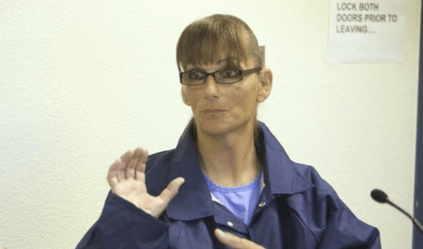 Serving life in prison for murder, undergoing gender reassignment on the taxpayer's dime.