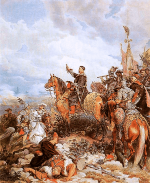 King_John_III_Sobieski_blessing_Polish_attack_on_Turks_in_Vienna_1683