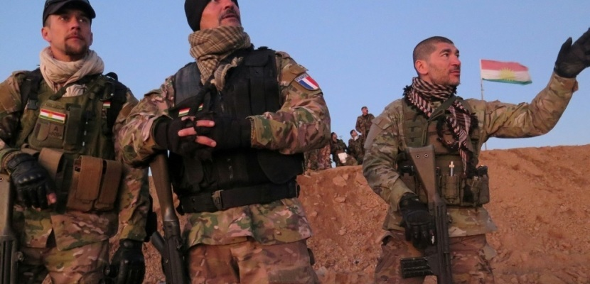 French volunteers fighting ISIS with the Peshmergas