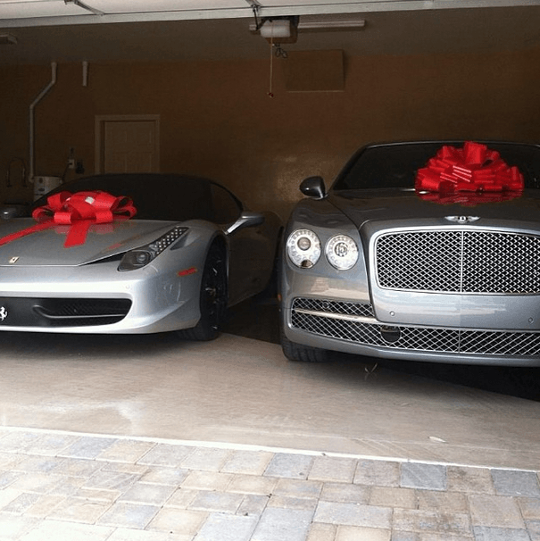 lavish gifts
