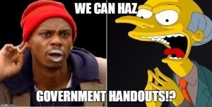 We Can Haz Government Handouts (2)