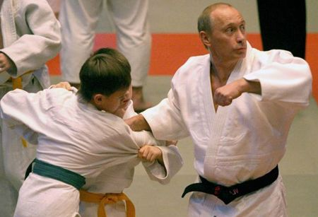 "There is an instructional film called ""Let's Learn Judo with Vladimir Putin"". An yes, I have it."