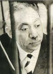 Sayyid Qutb, founder of the Muslim Brotherhood known in the Muslim world for his work on what he believed to be the social and political role of Islam
